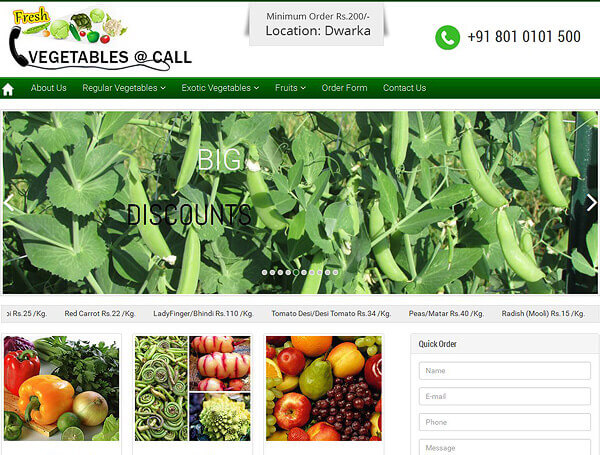 www.fruitsnvegetablesatcall.in